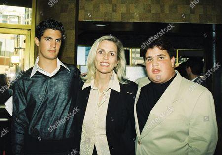 Alexander Davis, Nancy Davis and Brandon Davis