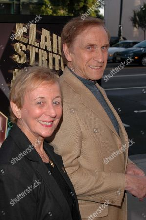 Peter Mark Richman and wife Helen Landess