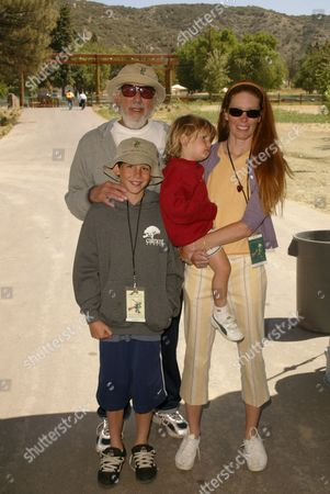 Lou Adler , Page Hannah and Kids