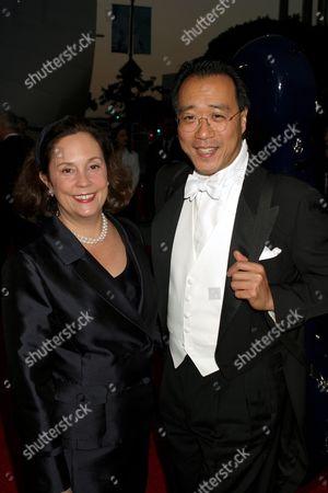 Yo-Yo Ma and Jill Hornor