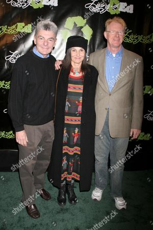 Richard Benjamin with Paula Prentiss and Ed Begley Jr.