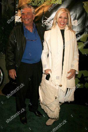 Peter Falk with Shera Danese