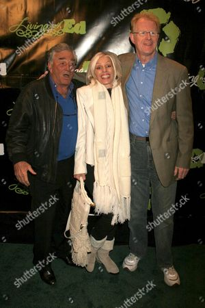 Peter Falk with Shera Danese and Ed Begley Jr.