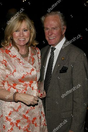 Robert Culp and wife Candace