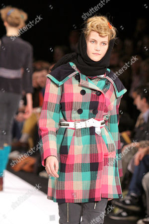 Missy Rayder at the Marc Jacobs fashion show