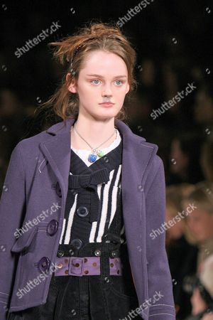Stock Picture of Lisa Cant at the Marc Jacobs fashion show