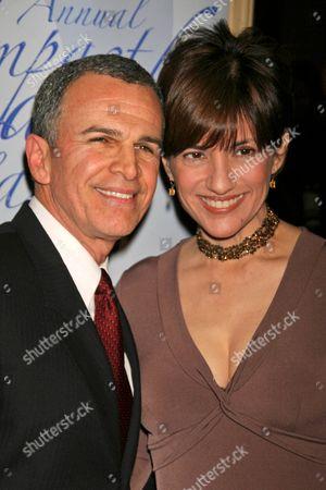 Stock Photo of Tony Plana and wife Ada Maris