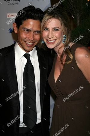 Anthony Ruivivar and wife Yvonne Jung