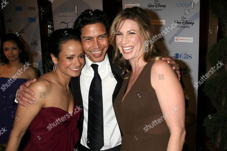 Judy Reyes, Anthony Ruivivar and wife Yvonne Jung