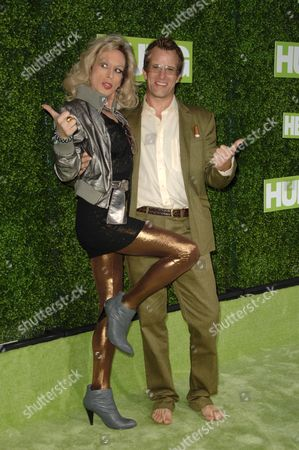 Alexis Arquette and Thomas Jane