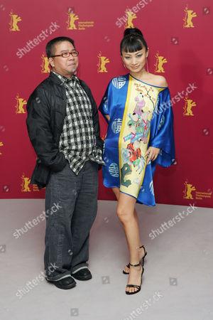 Fruit Chan and Bai Ling at the 'Dumplings' photocall - 12 Feb