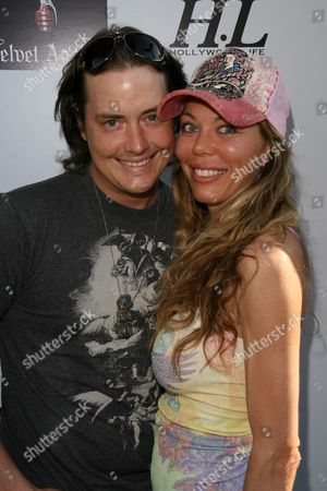 Stock Photo of Jeremy London and Melissa Cunningham