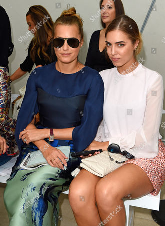 Stock Photo of Yasmin and Amber LeBon