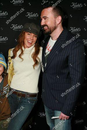 Krista Allen and Chris Salgardo