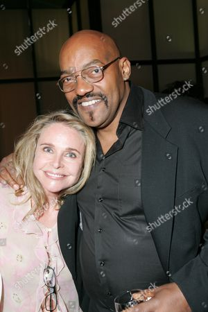 Priscilla Barnes and Ken Foree