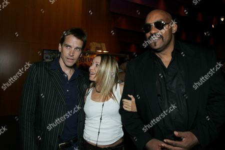 Bill Moseley, Elizabeth Daily & Ken Foree