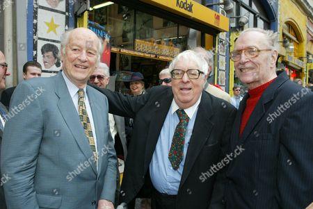 Ray Harryhausen, Ray Bradbury & Forrest J. Ackerman