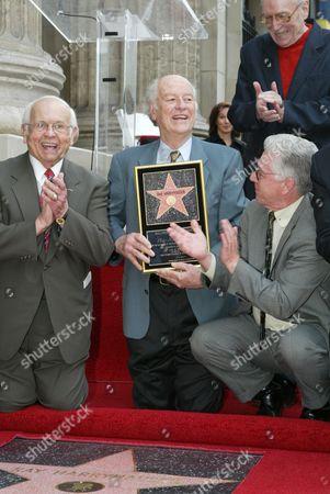 Johnny Grant, Ray Harryhausen  & Forrest J. Ackerman