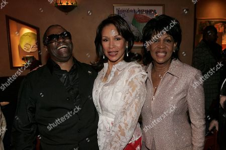Ellis Hall, Frida Payne and Maxine Waters