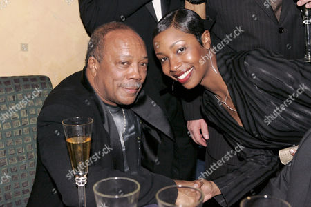 Quincy Jones and Latoya London.
