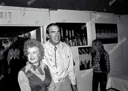 Stock Photo of Fred MacMurray and wife June Haver