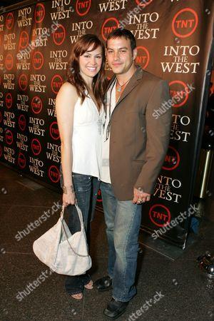 Natalia Livingston and Tyler Christopher