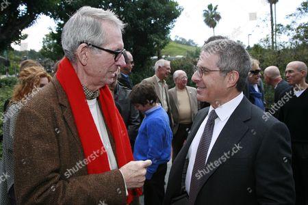 Sid Sheinberg and Universal Studios President Ron Meyer