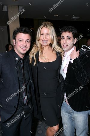 Sam Golzari, Jennifer Coolidge and Tony Yalda