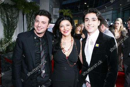 Sam Golzari, Shohreh Aghdashloo and Tony Yalda