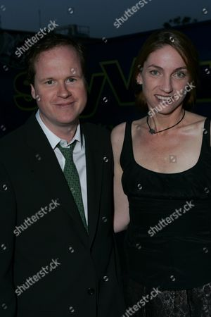 Stock Photo of Joss Whedon and Kai Cole