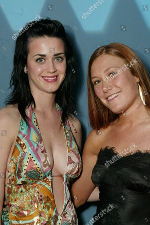 Katy Perry and Schuyler Fisk