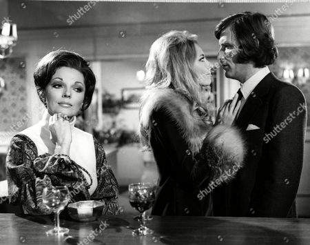 Stock Photo of Joan Collins, Juliet Harmer and Tom Bell