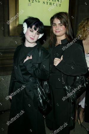 Kelly Osbourne and Aimee Osbourne