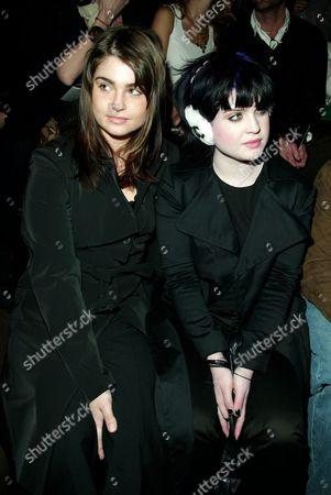 Aimee Osbourne and Kelly Osbourne