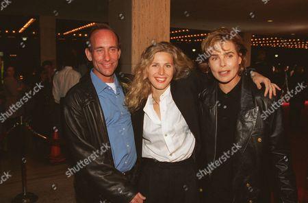 Michael, Sophie B. Hawkins and Margaux Hemingway