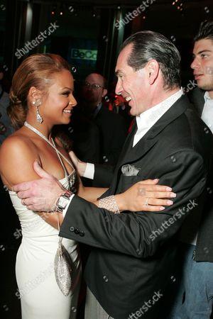 Christina Milian and MGM's Alex Yemenidjian