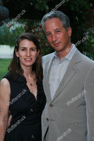 Catherine Soros and Jeffrey Soros