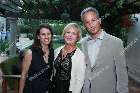 Catherine Soros, Brenda Potter and Jeffrey Soros