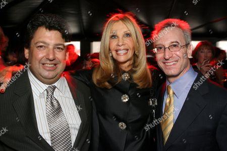 Paul Schimmel, Jane Nathanson and Jeremy Strick