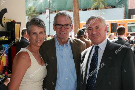 Jamie Lee Curtis, Sid Sheinberg and Bruce Ramer