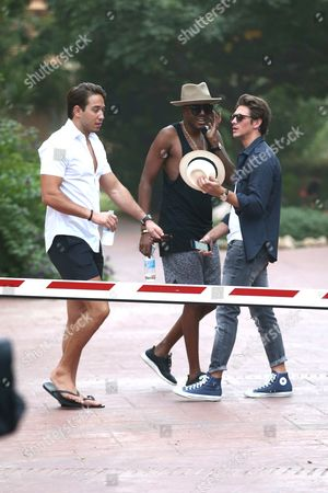 Editorial picture of TOWIE Cast in Marbella, Spain - 21 Sep 2015
