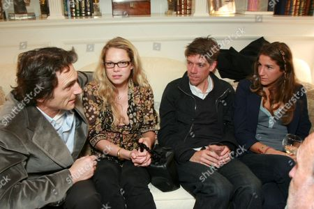 Lawrence Bender, Cecile Breccia, Stephen Gaghan and Minnie Mortimer