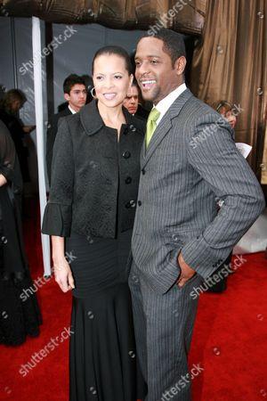 Desiree DaCosta and Blair Underwood