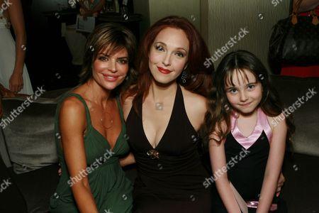 Lisa Rinna, Amy Yasbeck and daughter Stella Ritter