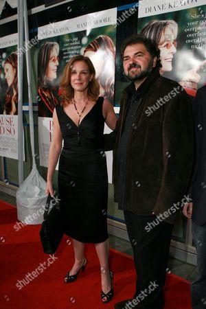 Elizabeth Perkins and Julio Macat