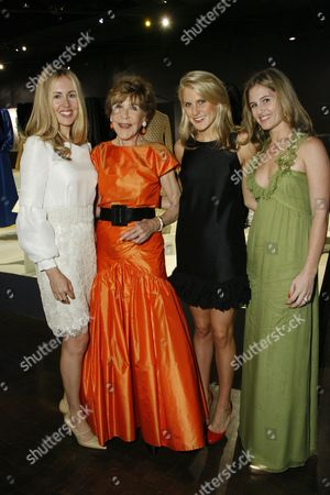 Berry, Betsy and Hayley Bloomingdale, Jane Bloomingdale-Cisneros