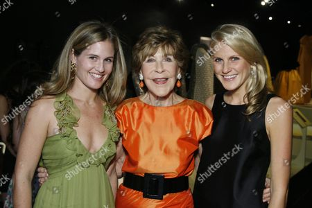 Stock Picture of Jane Bloomingdale-Cisneros, Betsy Bloomingdale and Hayley Bloomi