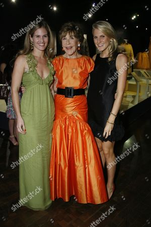 Jane Bloomingdale-Cisneros, Betsy Bloomingdale and Hayley Bloomi