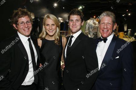James, Hayley, Wyatt and Robert Bloomingdale