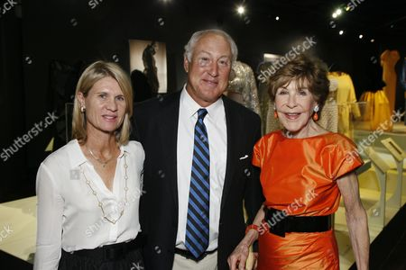 Polly and Geoff Bloomingdale and mother Betsy Bloomingdale